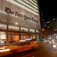 The New York Times Is Now Reporting Something They Ridiculed Trump For Talking About A Year Ago