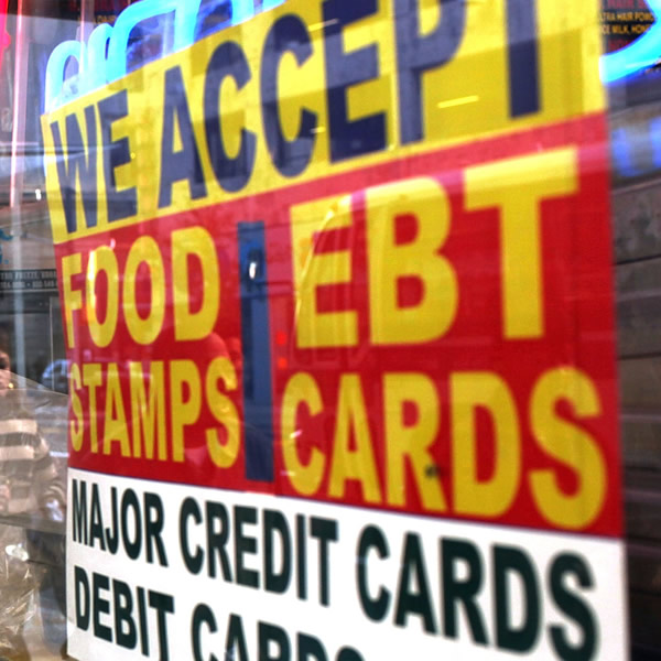 Trump drops the hammer on food stamp recipients will save for America s second harvest