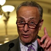 Chuck Schumer Won't Vote For Trump Nominee Because He's A White Male (Details)