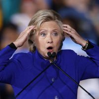 Is She Drinking Again? Hillary Clinton Sounds the Alarm 'The Russians Are Coming'