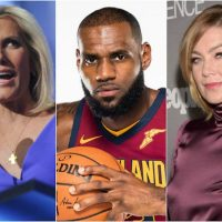 NO CLASS: Actress Ellen Pompeo Challenges Laura Ingraham To A Fight Over LeBron James
