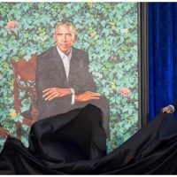 Nat'l Portrait Gallery Unveils 'Embarrassingly Bad' Obama Portraits, Twitter Shreds It Apart [VIDEO]