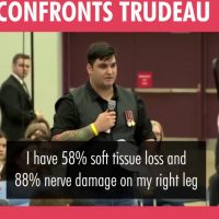 Wounded Canadian Veteran Slams Liberal PM Trudea: 'Canada Turning Its Back On Me!' (VIDEO)