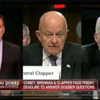 Developing: Comey, Brennan and Clapper Have Until Friday to Disclose When They Knew Dossier Was Funded by DNC