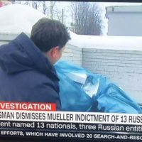 CNN Digs Through Trash Outside Troll Farm To Find Evidence of Trump-Russia Collusion (VIDEO)