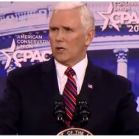 Pence Brings CPAC to Its Feet: 'Make No Mistake, We're Going To Build That Wall'